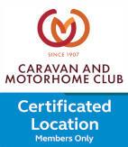 Birch Hill CL 1398 caravan club plaque