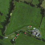 Aerial Photograph of Birch Hill Caravan Club CL