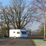 Frosty morning at Birch Hill Caravan Club CL
