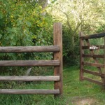 Gateway to The Dingle at Birch Hill Caravan Club CL