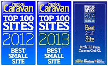 Caravan Club CL Practical Caravan Awards