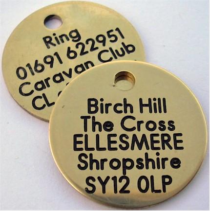 Birch Hill dog tags